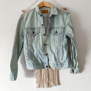 Vintage Levi's Light Wash Jean Jacket